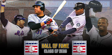 2016 Baseball Hall of Fame Class