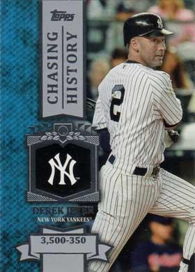 2013 Topps Chasing History Ch 60 Derek Jeter Buy Baseball