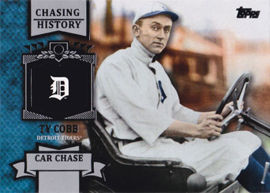 2013 Topps Chasing History Ch 94 Ty Cobb Buy Baseball
