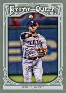 2013 Topps Gypsy Queen 124 Elvis Andrus Sp Buy Baseball Cards
