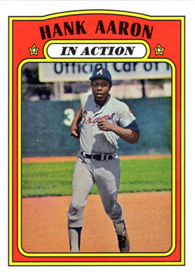 2016 Topps Bergers Best Series 2 Bb2 1972 Hank Aaron Buy Baseball