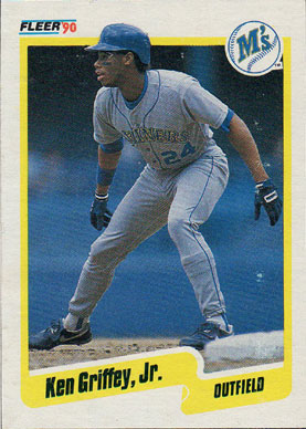 90555a3db7 1990 Fleer Wax Box Cards #C-10 Ken Griffey Jr. - Buy Baseball Cards ...