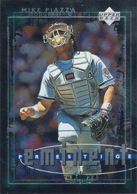 1998 Upper Deck 605 Mike Piazza Eminent Prestige Buy Baseball